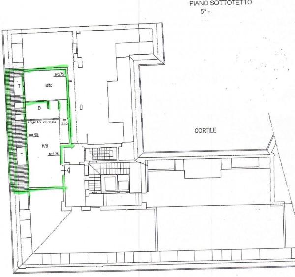 Appartamento in affitto a Milano, Repubblica, Stazione Centrale, 60 mq - Foto 22