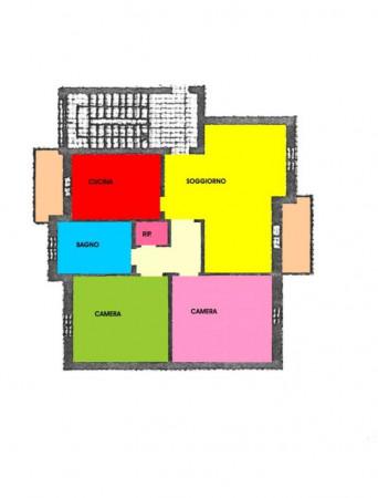 Appartamento in vendita a Pandino, Residenziale, Con giardino, 110 mq - Foto 2
