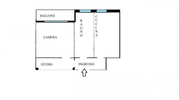 Appartamento in vendita a Milano, Gambara, 55 mq - Foto 21