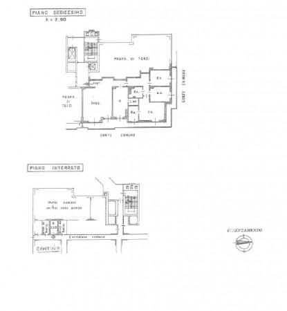 Appartamento in affitto a Milano, Brenta, Con giardino, 152 mq - Foto 2