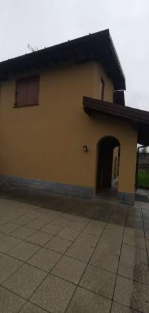 Villa in vendita a Monte Cremasco, Residenziale, Con giardino, 173 mq - Foto 4