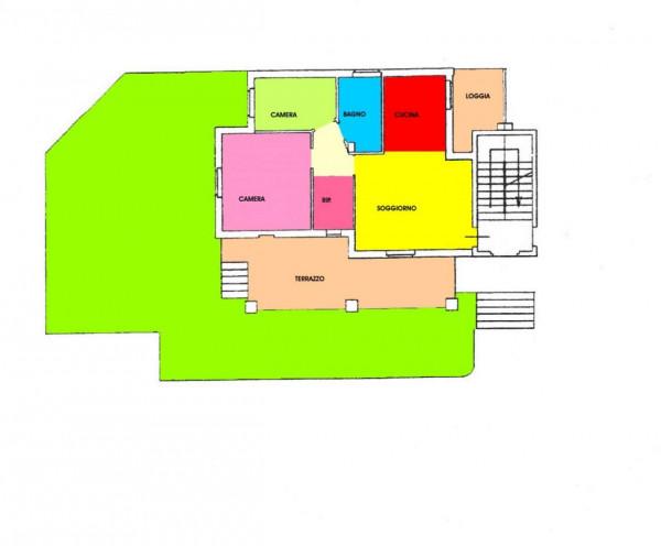 Appartamento in vendita a Trescore Cremasco, Residenziale, Con giardino, 121 mq - Foto 2