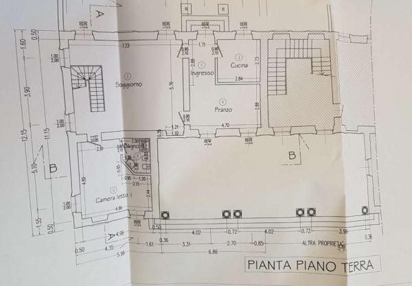 Rustico/Casale in vendita a San Giuliano Milanese, Viboldone, Con giardino, 291 mq - Foto 5