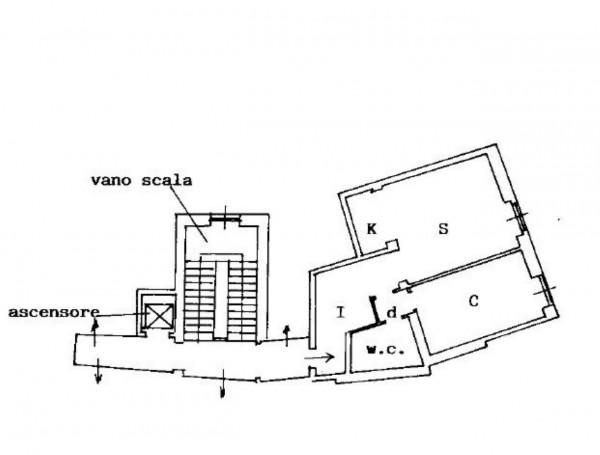 Appartamento in vendita a Sestri Levante, Centro, Arredato, 65 mq - Foto 2