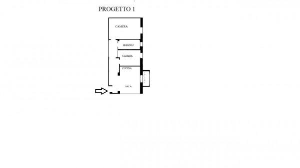 Appartamento in vendita a Milano, Gambara, 80 mq - Foto 3
