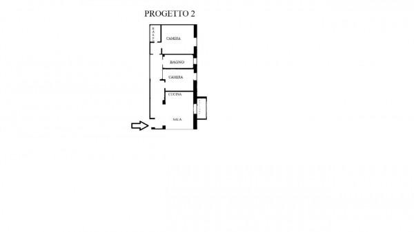 Appartamento in vendita a Milano, Gambara, 80 mq - Foto 2
