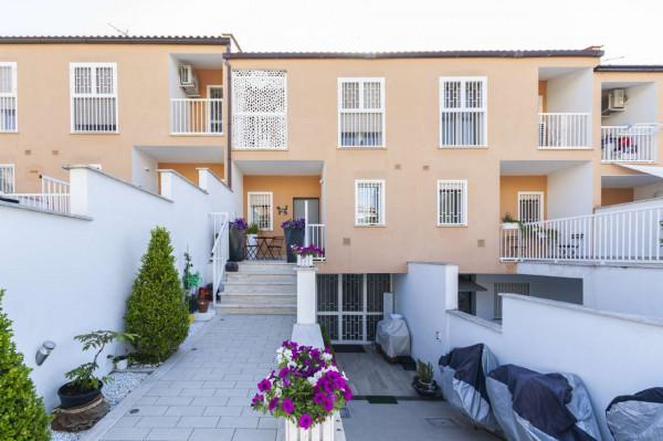 Villetta a schiera in vendita a Roma, Torrino Mezzocammino, Con giardino, 130 mq - Foto 10
