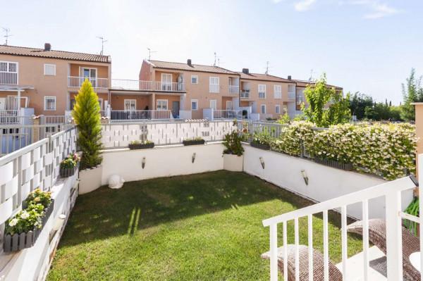 Villetta a schiera in vendita a Roma, Torrino Mezzocammino, Con giardino, 130 mq - Foto 7