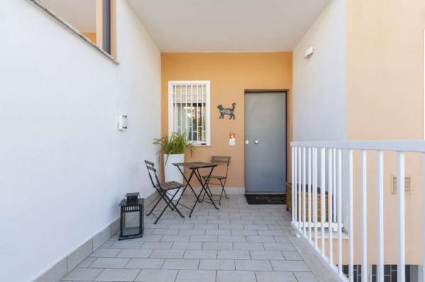 Villetta a schiera in vendita a Roma, Torrino Mezzocammino, Con giardino, 130 mq - Foto 9