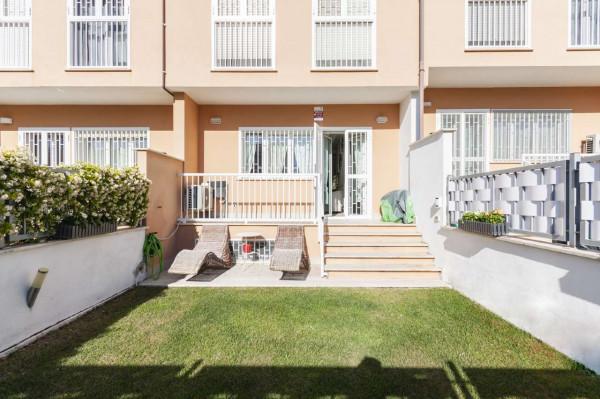 Villetta a schiera in vendita a Roma, Torrino Mezzocammino, Con giardino, 130 mq - Foto 6
