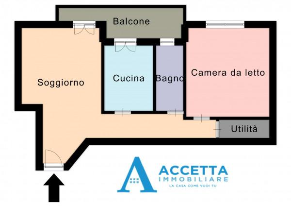 Appartamento in vendita a Taranto, Rione Italia, Montegranaro, 72 mq - Foto 2