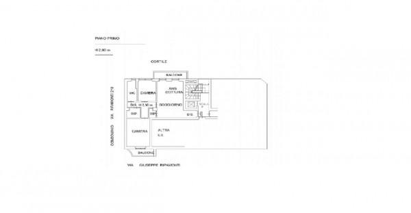 Appartamento in vendita a Milano, Vigentino, Con giardino, 82 mq - Foto 2