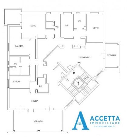 Appartamento in vendita a Taranto, San Vito, Con giardino, 230 mq - Foto 2