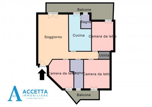Appartamento in vendita a Taranto, San Vito, Con giardino, 121 mq - Foto 2
