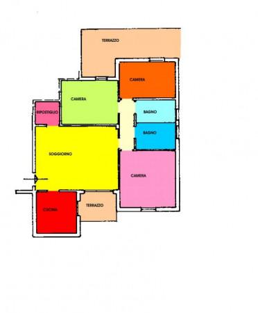 Appartamento in vendita a Villanterio, Residenziale, 126 mq - Foto 40