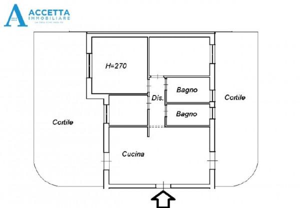Appartamento in vendita a Taranto, Talsano, Con giardino, 96 mq - Foto 2