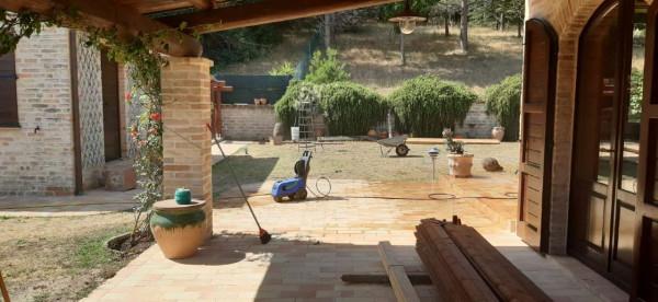 Rustico/Casale in vendita a Montecosaro, Arredato, con giardino, 250 mq - Foto 11