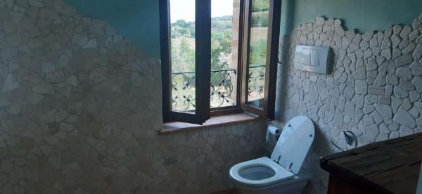 Rustico/Casale in vendita a Montecosaro, Arredato, con giardino, 250 mq - Foto 4