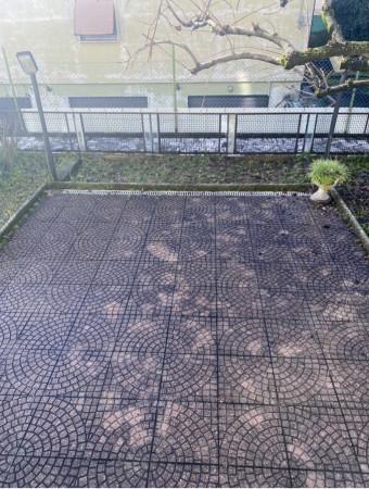 Trilocale in vendita a Brescia, Torricella, Con giardino, 90 mq