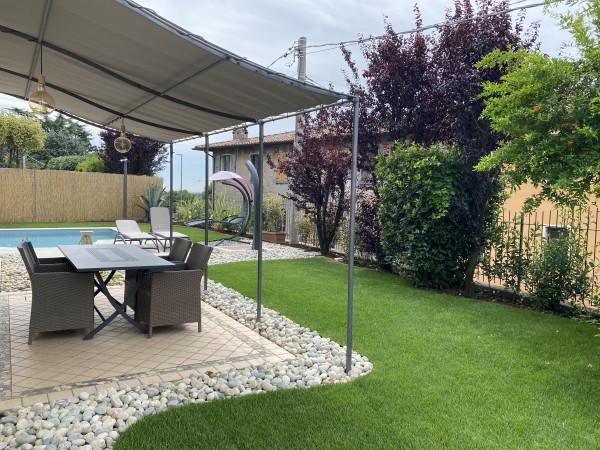 Trilocale in vendita a Cazzago San Martino, Bornato, Con giardino, 100 mq
