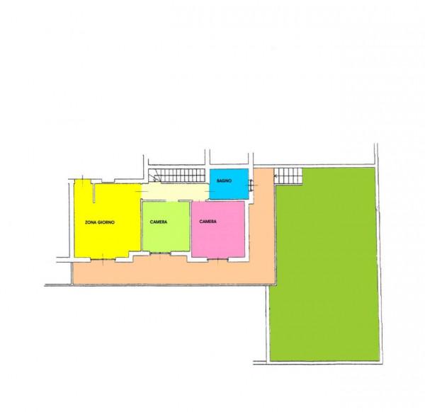 Appartamento in vendita a Boffalora d'Adda, Residenziale, Con giardino, 105 mq - Foto 2
