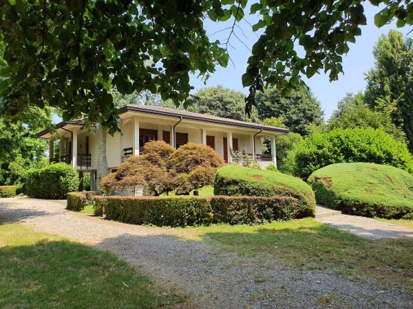 Villa in vendita a Monte Cremasco, Residenziale, Con giardino, 1070 mq