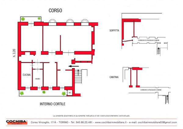 Appartamento in vendita a Torino, 199 mq - Foto 3