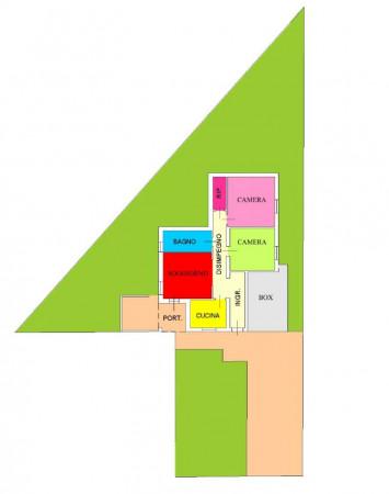 Villa in vendita a Pandino, Residenziale, Con giardino, 140 mq - Foto 2