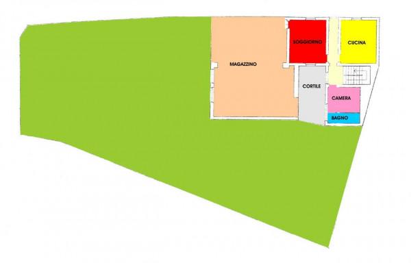 Casa indipendente in vendita a Gombito, Residenziale, Con giardino, 412 mq - Foto 3