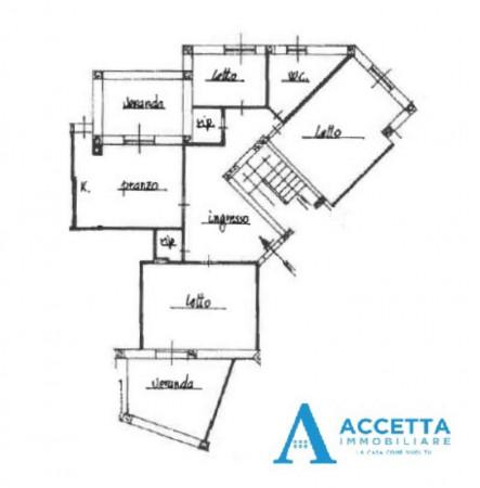 Appartamento in vendita a Taranto, Lama, Con giardino, 130 mq - Foto 2