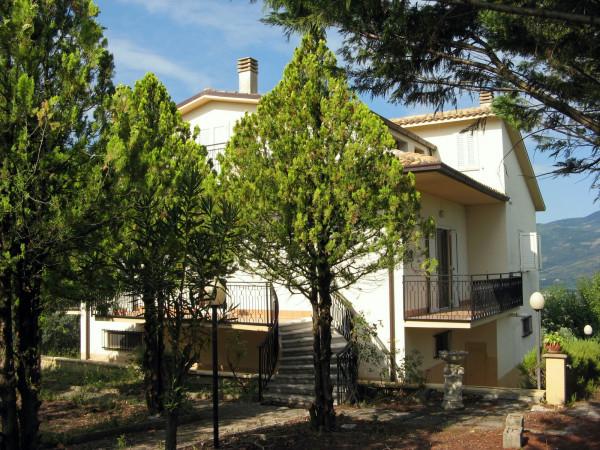 Villa in vendita a Bolognano, Frazione, Con giardino, 300 mq - Foto 1