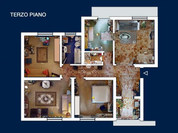 Appartamento in vendita a Firenze, 128 mq