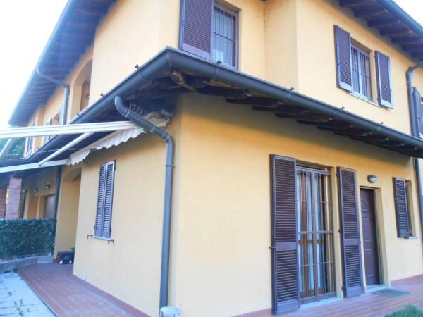 Villa in vendita a Monte Cremasco, Residenziale, Con giardino, 181 mq - Foto 9