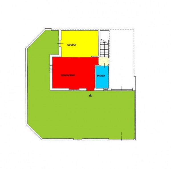Villa in vendita a Monte Cremasco, Residenziale, Con giardino, 181 mq - Foto 5