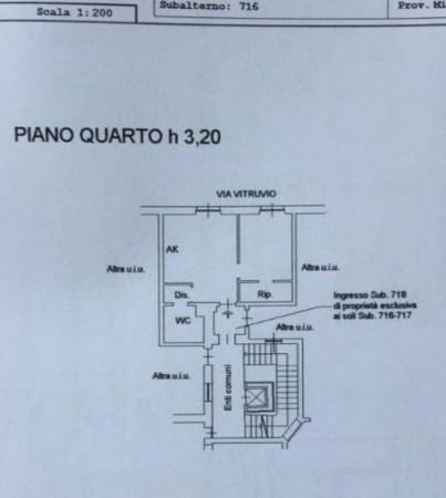 Appartamento in vendita a Milano, Arredato, 50 mq - Foto 2