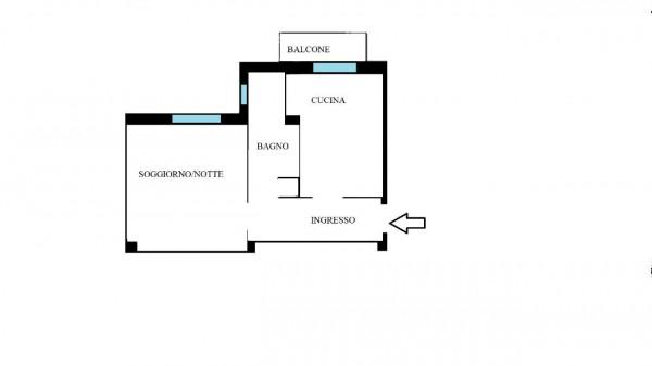 Appartamento in vendita a Milano, San Siro, Arredato, 50 mq - Foto 2
