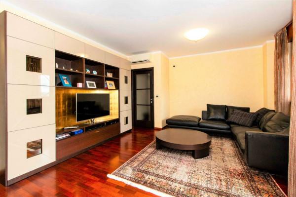 Appartamento in vendita a Torino, Arredato, con giardino, 168 mq - Foto 16