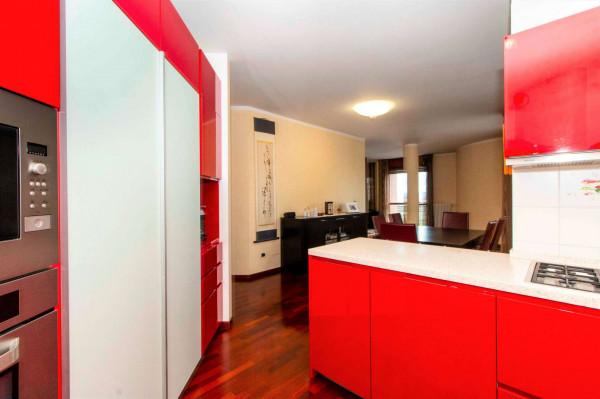 Appartamento in vendita a Torino, Arredato, con giardino, 168 mq - Foto 12