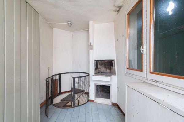 Appartamento in vendita a Milano, Bande Nere, Con giardino, 175 mq - Foto 25