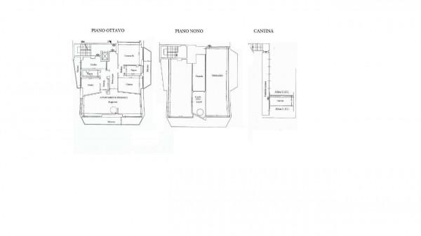 Appartamento in vendita a Milano, Bande Nere, Con giardino, 175 mq - Foto 2