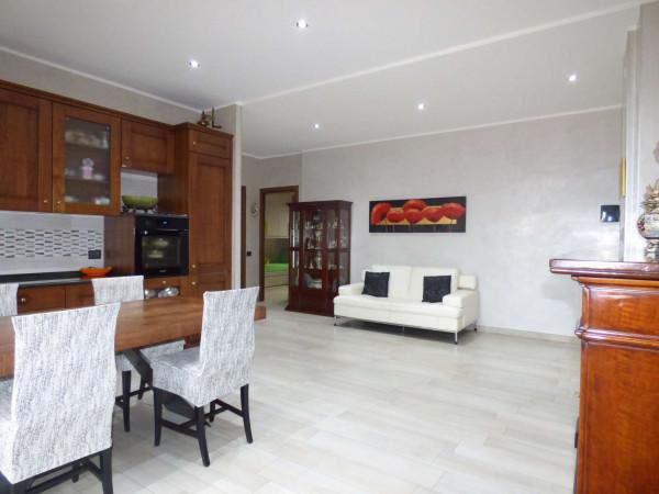 Appartamento in vendita a Borgaro Torinese, Centro, Con giardino, 90 mq - Foto 5