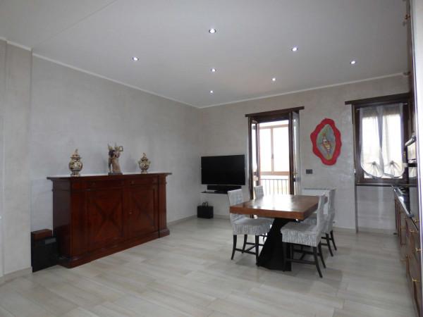 Appartamento in vendita a Borgaro Torinese, Centro, Con giardino, 90 mq - Foto 3