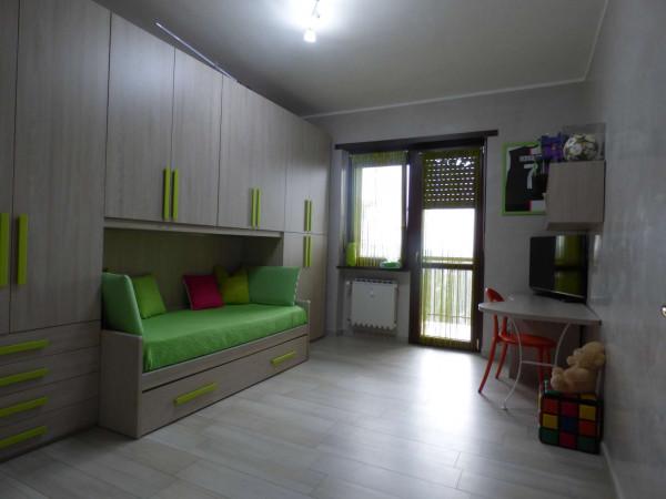Appartamento in vendita a Borgaro Torinese, Centro, Con giardino, 90 mq - Foto 8