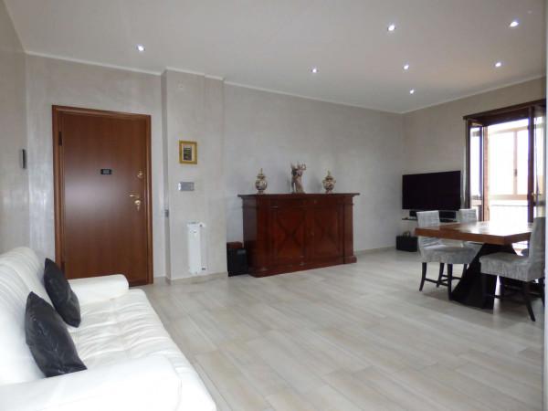 Appartamento in vendita a Borgaro Torinese, Centro, Con giardino, 90 mq - Foto 37