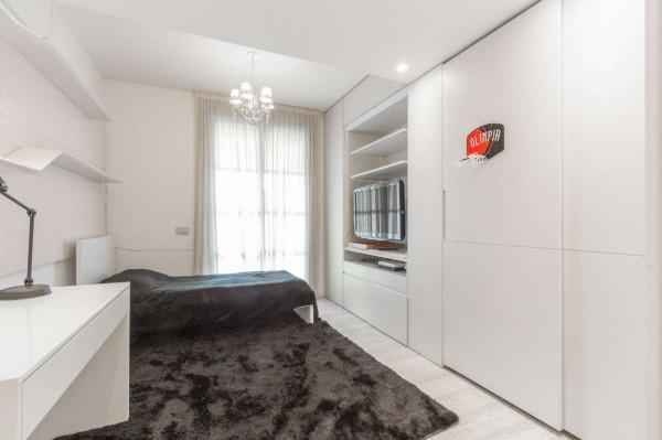 Appartamento in vendita a Milano, San Siro, Con giardino, 210 mq - Foto 12