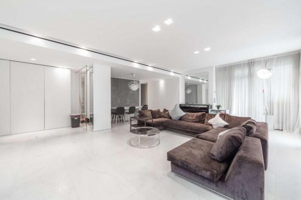 Appartamento in vendita a Milano, San Siro, Con giardino, 210 mq - Foto 21