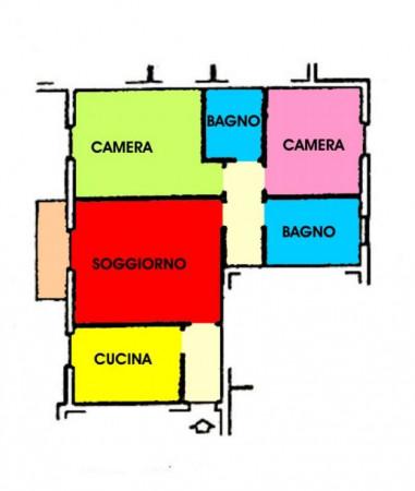 Appartamento in vendita a Agnadello, Residenziale, Con giardino, 106 mq - Foto 2