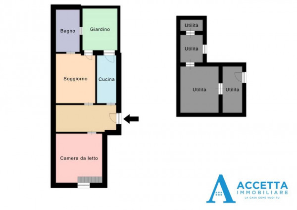 Appartamento in vendita a Taranto, Borgo, Con giardino, 116 mq - Foto 2