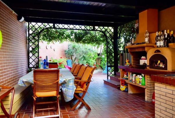 Villa in vendita a Pescara, Piazza Marino Di Resta, Arredato, con giardino, 300 mq - Foto 11