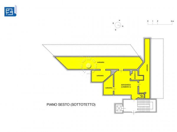 Appartamento in vendita a Firenze, 270 mq - Foto 3